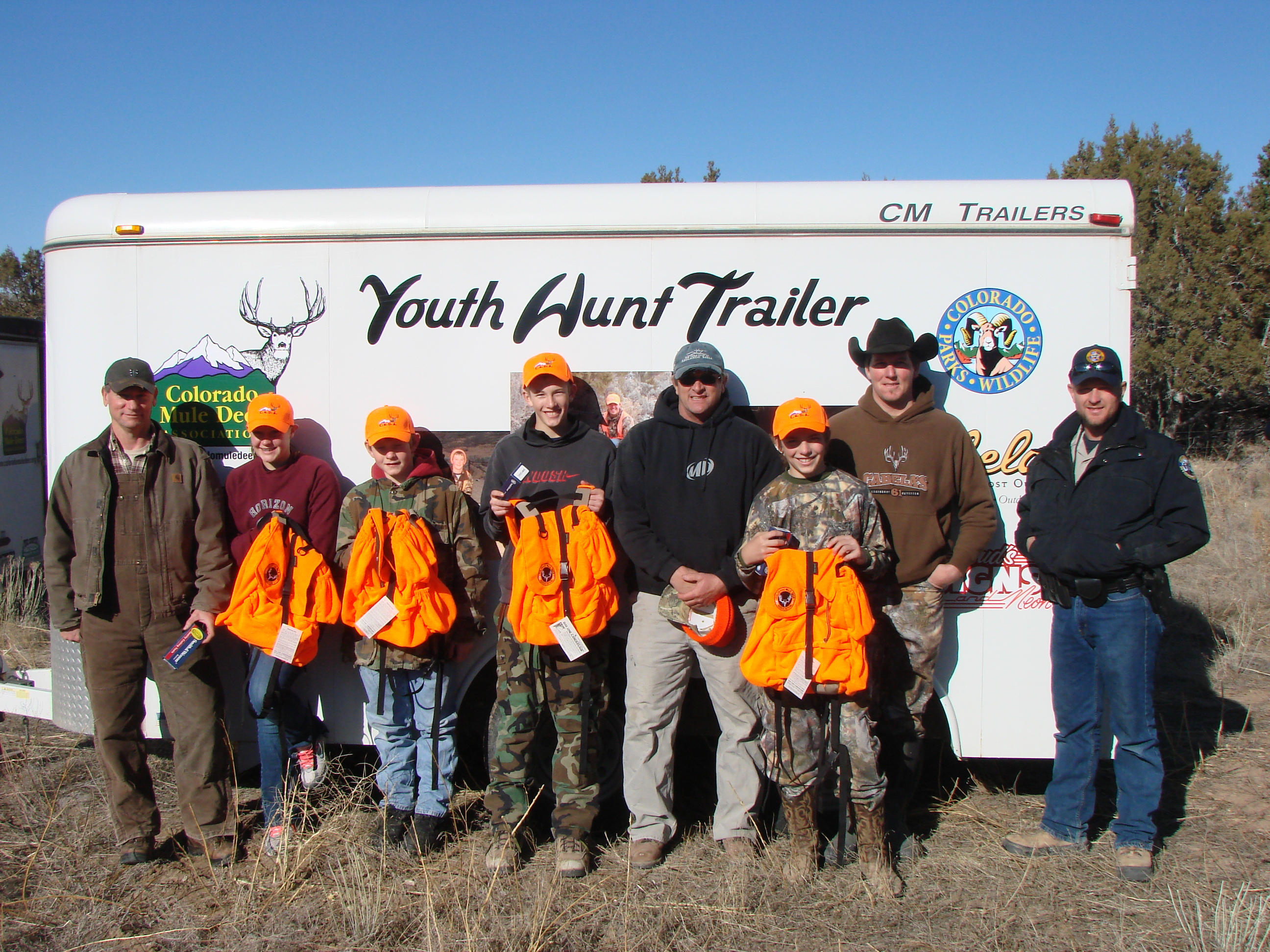 First Timers Youth Hunts Pic